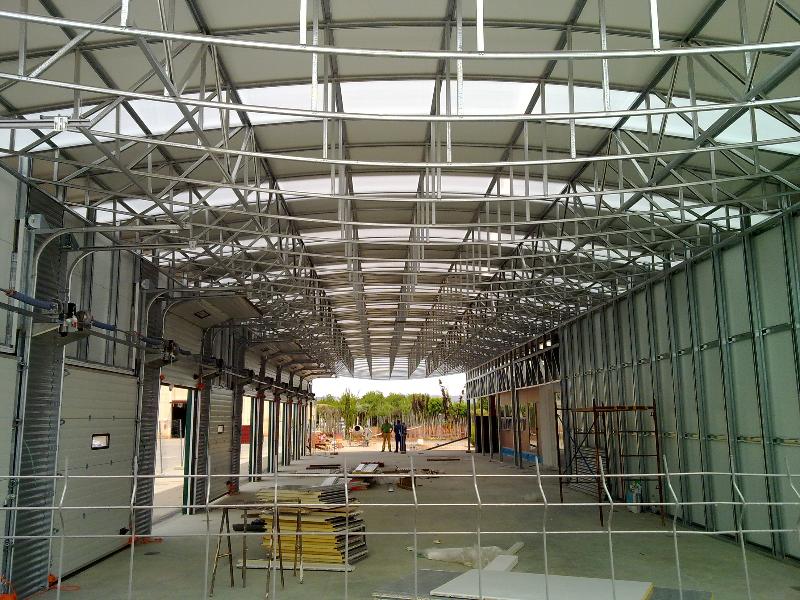 Proyectos realizados en steel framing galvanalisis for Viveros sanchez