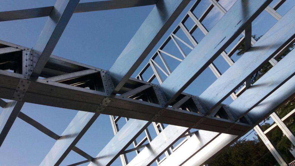 celosía steel framing