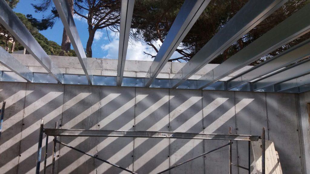 vigas steel frame